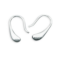 Silver Classic Drop Earrings