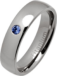 25mm Tanzanite Setting Service for our Silver and titanium rings